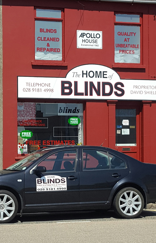 about home of blinds newtownards