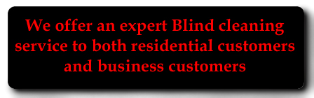 commercial & domestic blind cleaning service Newtownards and Bangor